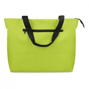 Velká plážová taška, světle zelená