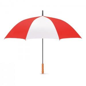 Automatický deštník průměr 118 cm, červená