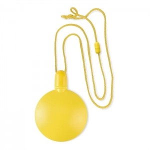 Kulatý bublifuk, žlutá