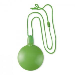 Kulatý bublifuk, světle zelená