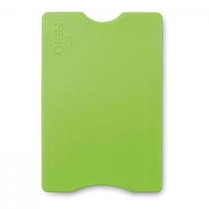 Plastový RFID obal, světle zelená