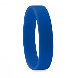 Silikonový náramek, modrá