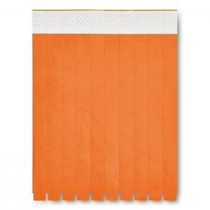 ID náramek, oranžová