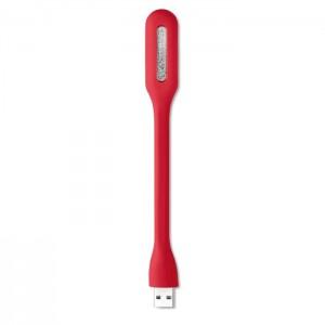 USB svítilna, červená