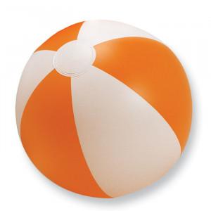 Nafukovací plážový míč, oranžová, průměr 24,5 cm
