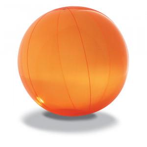 Nafukovací plážový míč, oranžový,průměr 28 cm