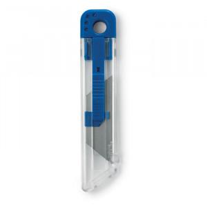 Zasunovací nůž, modrý