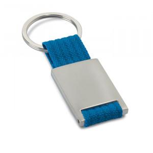 Kovová klíčenka, modrá
