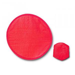 Skládací frisbee, červená