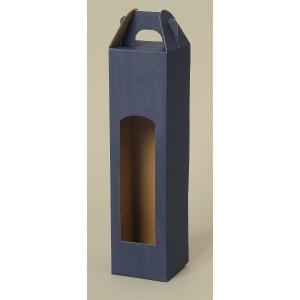 Krabice na láhev 8x8x34,5 cm
