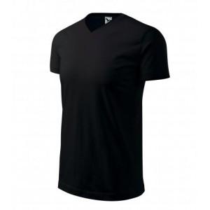 Tričko Heavy V-neck černá L