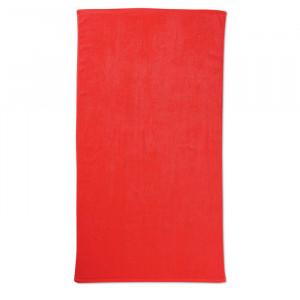 Plážová osuška, červená