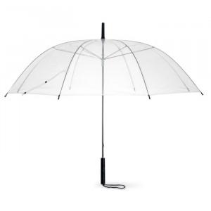 Deštník z PVC, transparentní