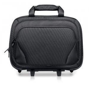 Business taška na kolečkách, černá