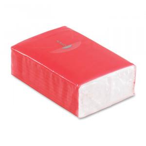 Papírové kapesníčky, červená
