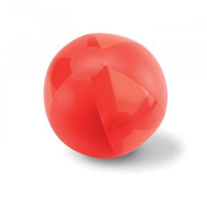 Nafukovací plážový míč, červená