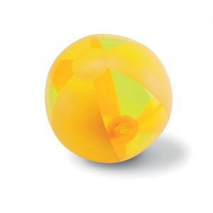 Nafukovací plážový míč, žlutá
