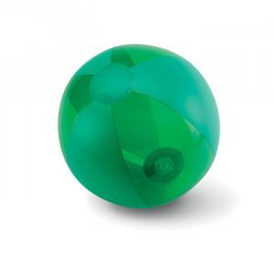 Nafukovací plážový míč, zelená