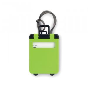 Jmenovka na zavazadlo, zelená
