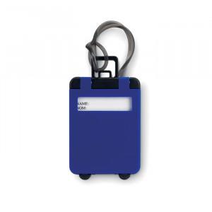 Jmenovka na zavazadlo, královská modrá