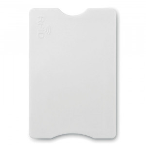Plastový RFID obal, bílá