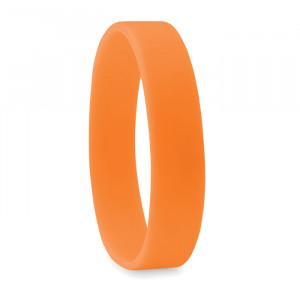 Silikonový náramek, oranžová