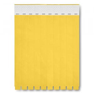 ID náramek, žlutá