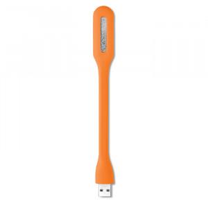 USB svítilna, oranžová