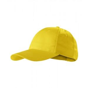 Sunshine čepice unisex žlutá nastavitelná
