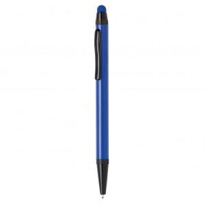 Aluminium slim stylus pen, blue
